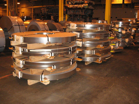 Stored Rolled Steel